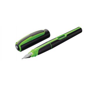 Pelikan Schulfüller Style Neongrün Feder M (Mittel)