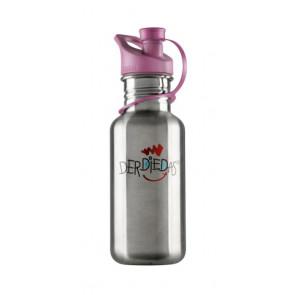 DerDieDas Edelstahltrinkflasche rosa