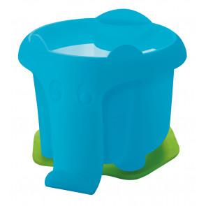 Pelikan Wasserbox  Elefant Blau mit Pinselhalter und Wasserkammer