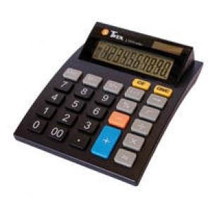 Twen J1010 solar Tischrechner Taschenrechner schwarz
