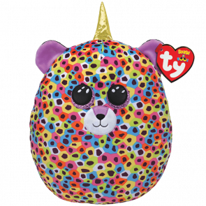 TY Squish-A-Boo Giselle Unileopard