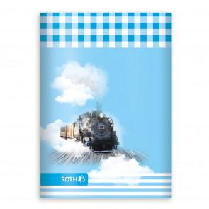 ROTH Oktavheft Lokomotive DIN A6, liniert