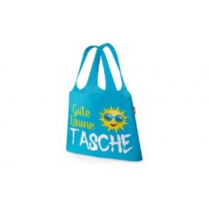 la vida Einkaufstasche Für Dich Motiv Gute Laune Sonne zusammengefaltet mit
