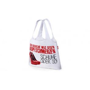la vida Einkaufstasche Für Dich Motiv Schuhe oder so zusammengefaltet mit