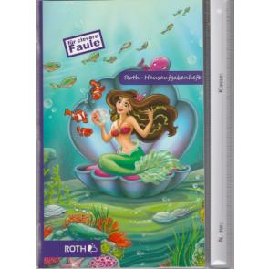 Roth Hausaufgabenheft DIN A5 für clevere faule; Meerjungfrau
