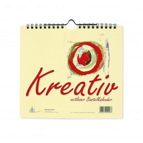Bastelkalender 20 x 18 cm Kreativ chamois