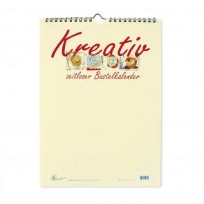 Bastelkalender A4 Kreativ chamois