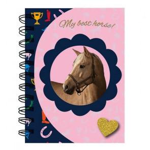 """Paso Magnetischer Spiralblock """"My Best Horse"""" A6"""