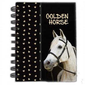 "Paso Magnetischer Spiralblock ""Golden Horse"" (DIN A6)"