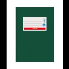 """Brunnen Heftumschlag Hefthülle Recyclingkarton DIN A5  """"Dunkelgrün"""" (Heftschoner)"""