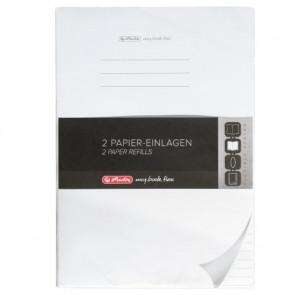 Herlitz my.book flex Refill liniert mit zwei Rändern A4 2x40 Blatt