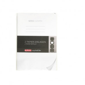 Herlitz my.book flex Refill blanko A5 2x40 Blatt