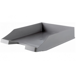 Ablagekorb Briefablage grau