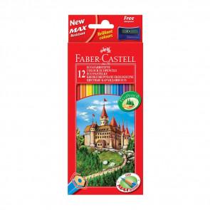 Faber-Castell Buntstifte Castle hexagonal 12er
