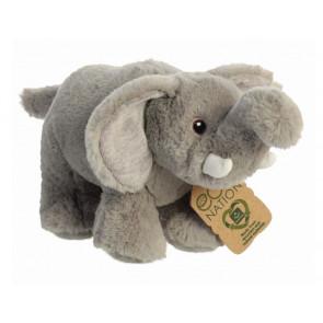 AURORA Kuscheltier Eco Nation Kuscheltiere Elephant 25 cm seitlich