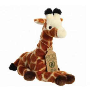 AURORA Kuscheltier Eco Nation Kuscheltiere Giraffe 25 cm seitlich
