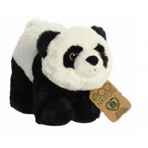 AURORA Kuscheltier Eco Nation Kuscheltiere Panda 25 cm seitlich