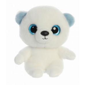 AURORA Kuscheltier Yoohoo Martee Eisbär 20 cm von vorne