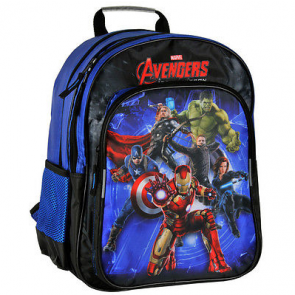 Avengers Kindergartenrucksack blau/schwarz
