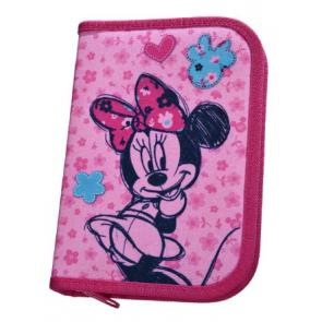 Federmäppchen Minnie Mouse 21tlg. pink rosa