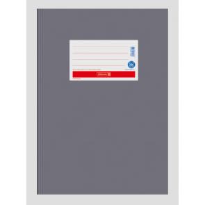 Brunnen Heftumschlag aus Papier grau A4 104055480