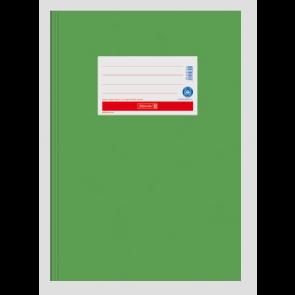 """Brunnen Heftumschlag Hefthülle Recyclingkarton DIN A5  """"Hellgrün"""" (Heftschoner) 104055553"""