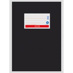 Brunnen Heftumschlag aus Papier schwarz A4 104055490