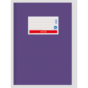 Brunnen Heftumschlag aus Papier violett A4 104055460