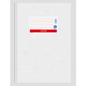 Brunnen Heftumschlag aus Papier weiß A4 104055400