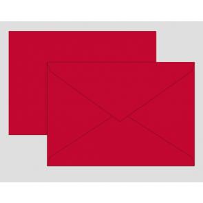 Brunnen Briefumschlag Universalpapier B6 mittelrot 10 Stk 80 g/m² 105125624