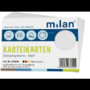 RNK Karteikarten DIN A6 Milan weiß blanco 100St. 114760