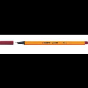 Stabilo Fineliner point 88 Strichstärke 0,4mm purpur