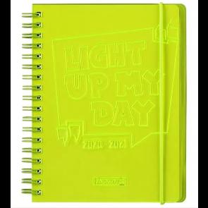 Brunnen Wochenkalender/Schülerkalender A6 gelb 2020/2021