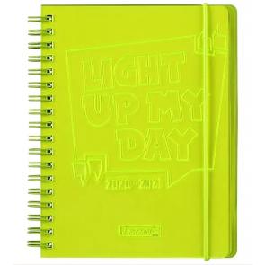 Brunnen Wochenkalender/Schülerkalender A5 gelb 2020/2021