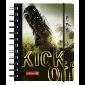 Brunnen Wochenkalender/Schülerkalender Fußball A6 20/21