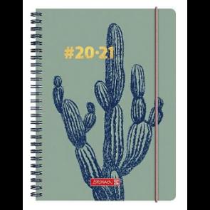 Brunnen Wochenkalender/Schülerkalender A5 #Harmony 21/22