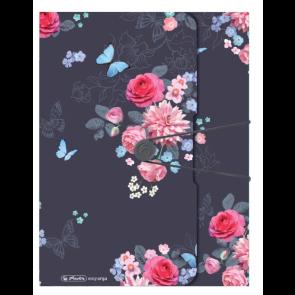 Herlitz Sammelbox PP A4 Ladylike Flowers
