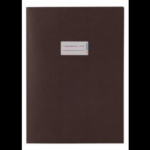Herma Heftumschlag Papier Recycling DIN A4 Braun (Heftschoner)