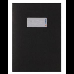 Herma Heftumschlag Papier Recycling DIN A4 Schwarz (Heftschoner)
