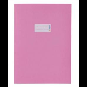 Herma Heftumschlag Papier Recycling DIN A4 Rosa (Heftschoner)