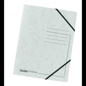 Falken Eckspanner Colorspan DIN A4 mit Gummizug weiss