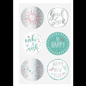 """Heyda Sticker """"Good Luck"""" 24 Stück"""