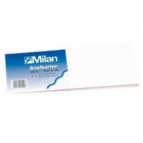 Milan Briefkarten DIN A6 25er