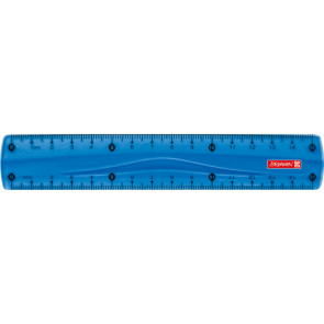 Brunnen Lineal Colour Code Azur 15 cm