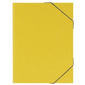 BRUNNEN Sammelmappe A3 FACT! plus Zeichnungsmappe 3 Klappen gelb