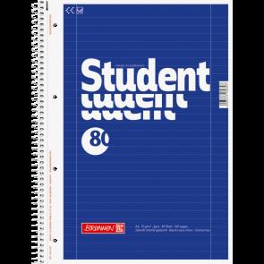 Brunnen Collegeblock Student Lin. 27 DIN A4 liniert blau