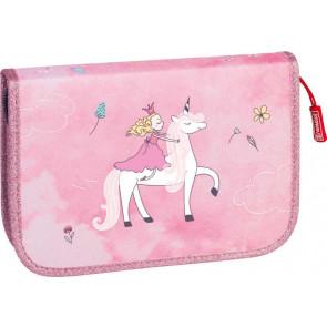 Brunnen Federmäppchen Unicorn Princess von vorne