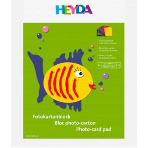 Heyda Fotokarton-Block DIN A4