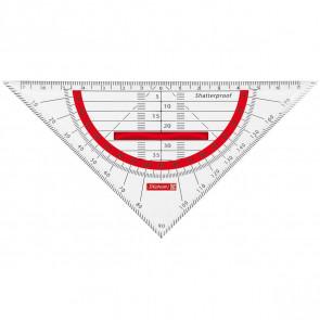 Brunnen Geometrie-Dreieck Colour Code 16 cm Red