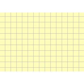 Brunnen Karteikarten DIN A8 kariert gelb 100Stk